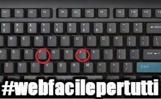 Ecco a cosa servono i segni sulla tastiera Sulle Lettere F e J