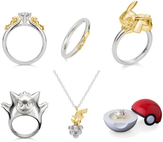 Pokemon dalam Bentuk Perhiasan Ini Bisa Kamu Koleksi