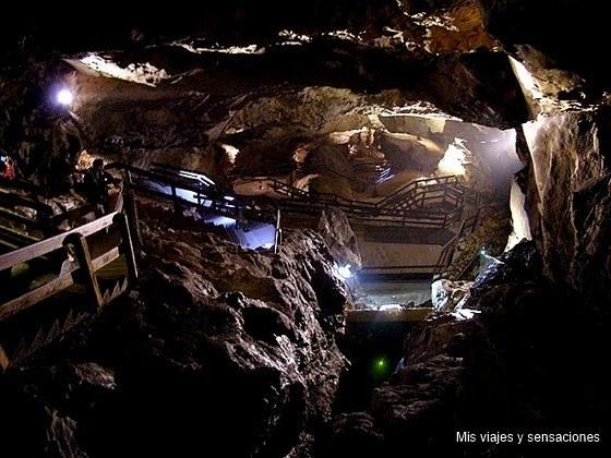 cueva de Lamprechtshöhle, Tirol, Austria