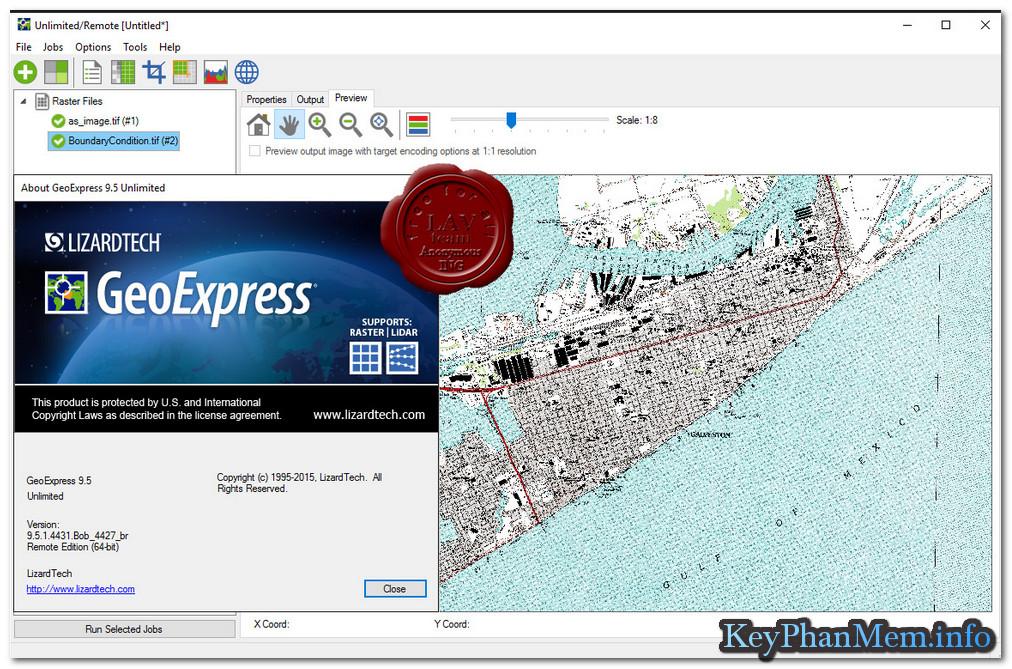 Download GeoExpress Unlimited v10.0.0.5011 Full Key, Phần mềm nén ảnh và địa lý tuyệt vời