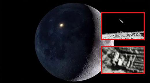La NASA destruyó intencionalmente estructuras de origen extraterrestre en la superficie lunar