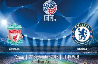 Prediksi Liverpool vs Chelsea 27 September 2018