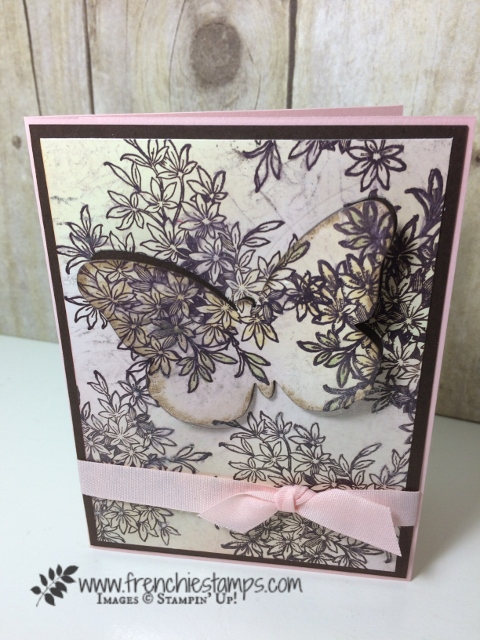 Awesomely Artistic, Glossy Paper, Bold Butterfly Framelits, wink of stella, Stampin'Up!