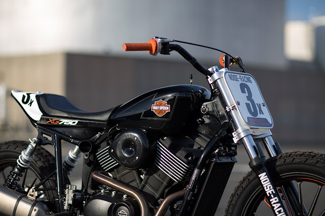 Harley Davidson XG750 By Noise Cycles Hell Kustom