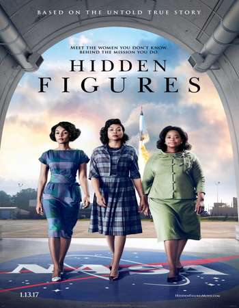 Hidden Figures 2016 Dual Audio 720p BluRay ORG [Hindi – English] ESubs