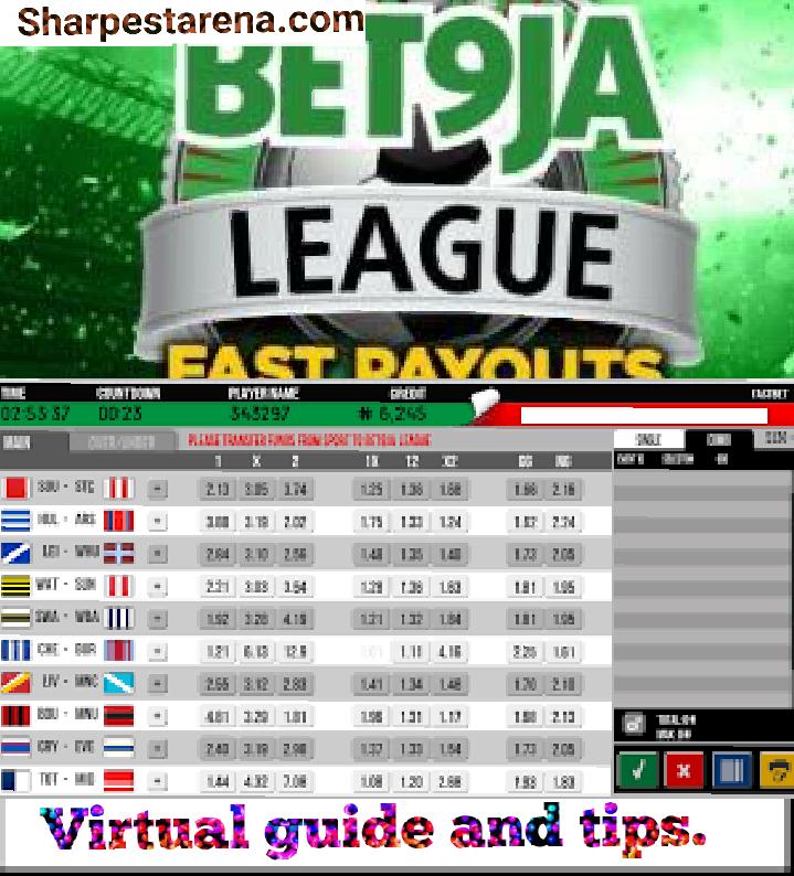 bet9ja virtual Football