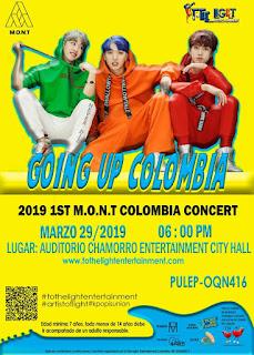 Concierto de MONT en Bogotá