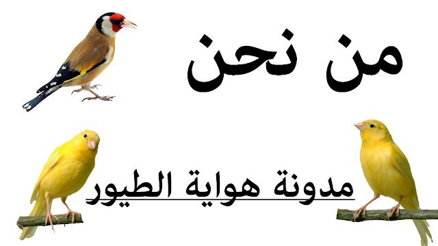 من نحن مونة هواية الطيور