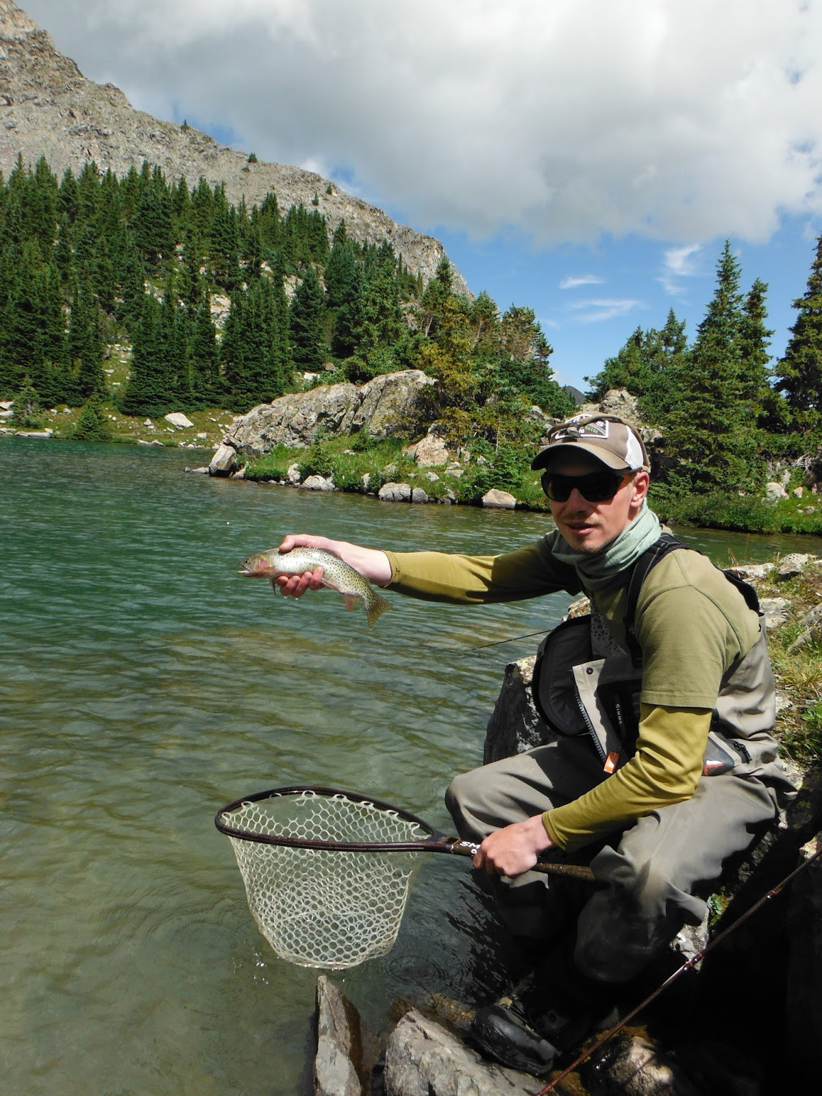 Jamie 39 s fly fishing journal north fork lakes for Fly fishing journal