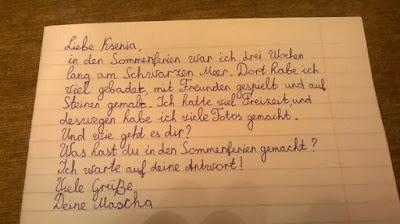 Deutsch Mit Anna 5 Klasse Briefe Schreiben