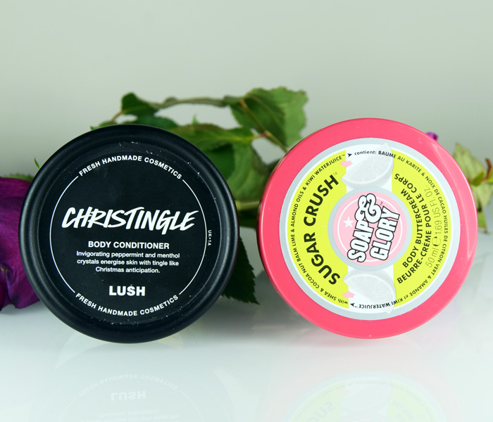 Lush Christingle Soap and Glory Sugar Crush