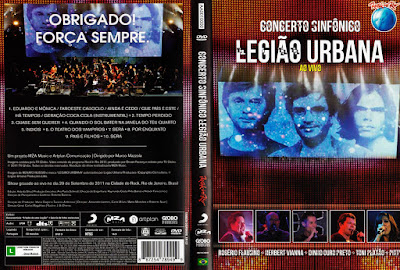 Concerto Sinfônico Legião Urbana Ao Vivo DVD Capa