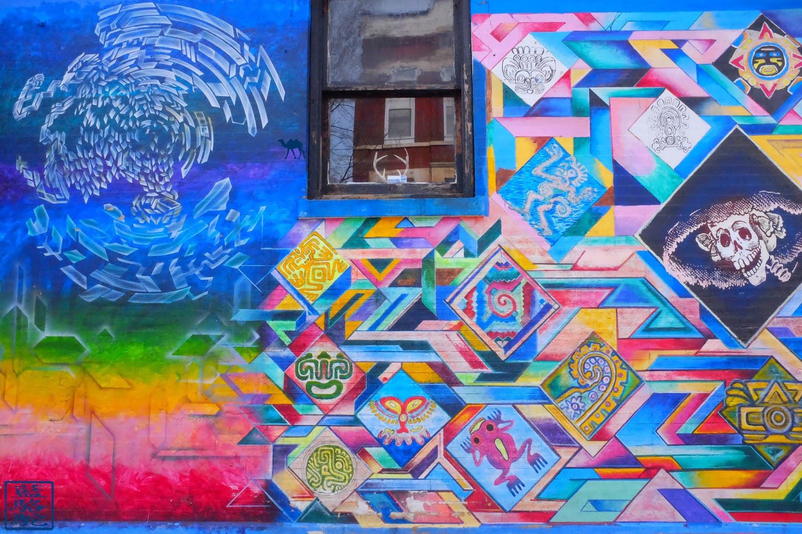 Le Chameau Bleu - Street Art à Pilsen