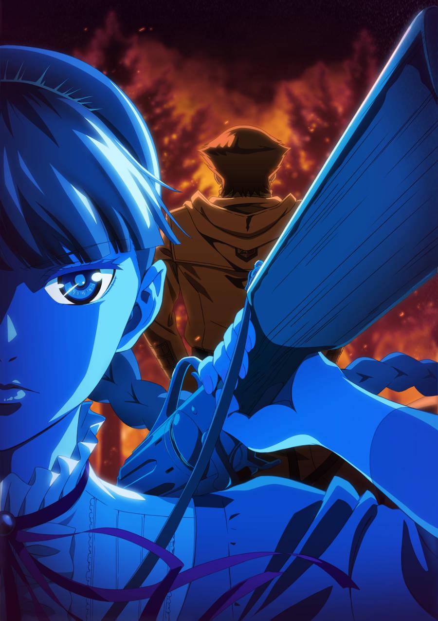 Plakat anime Katsute Kami Datta Kemono-tachi e