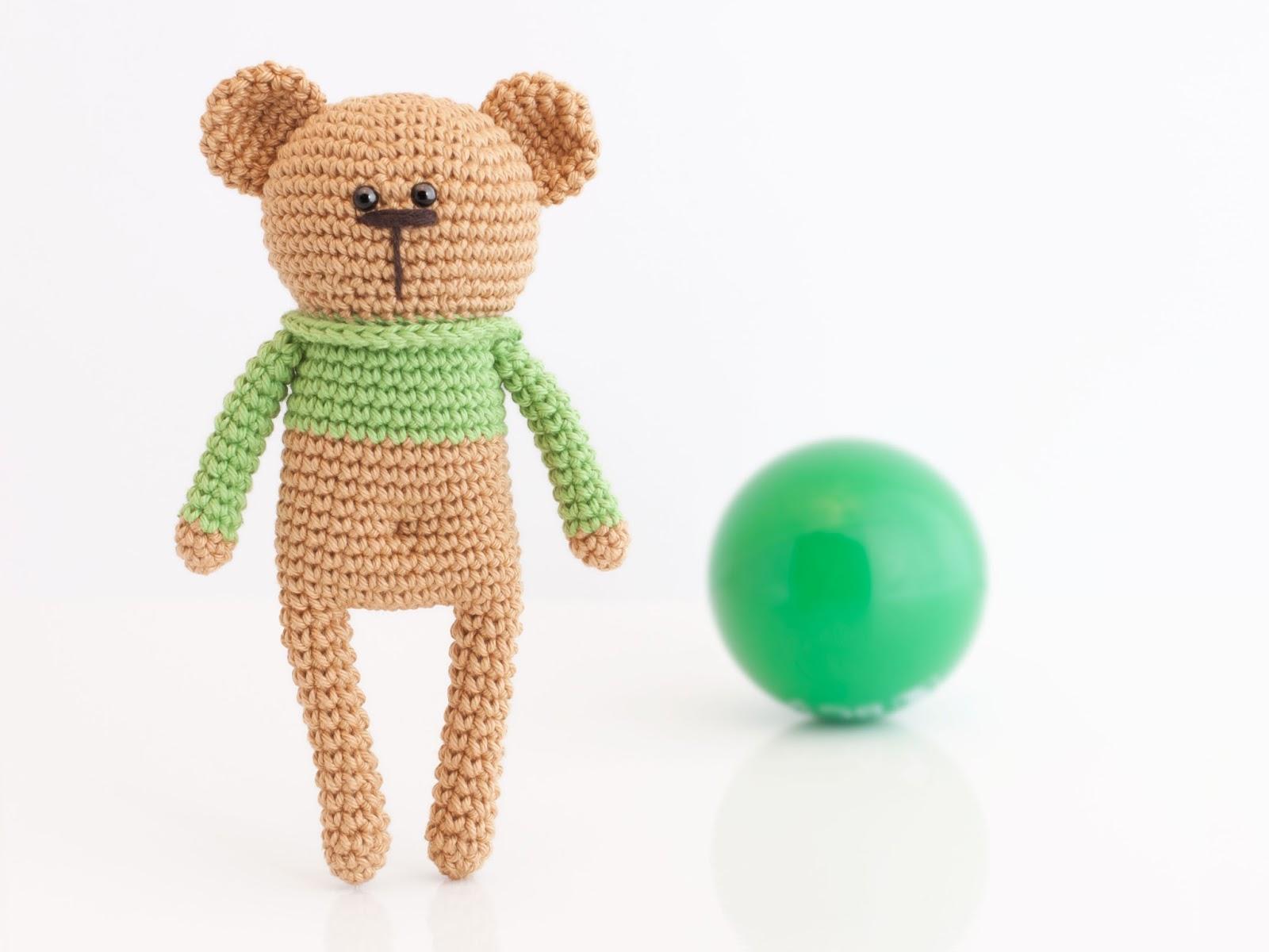 Mis PequiCosas: El oso Pupo y su balón