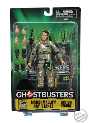 San Diego Comic-Con 2016 Toys R Us Exclusive GHOSTBUSTERS Marshmallow Ray Action Figure from Diamond Select Toys