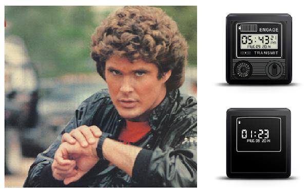 還記得霹靂遊俠李麥克那只可以叫夥計來的錶嗎?美國還真的有社群嘗試著複刻了,數位時代翻攝