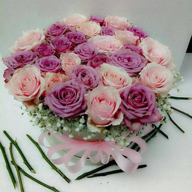 Karangan Bunga Box 002