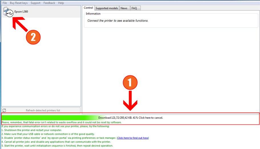 Resetter and Download Epson L360 Resetter Program Software