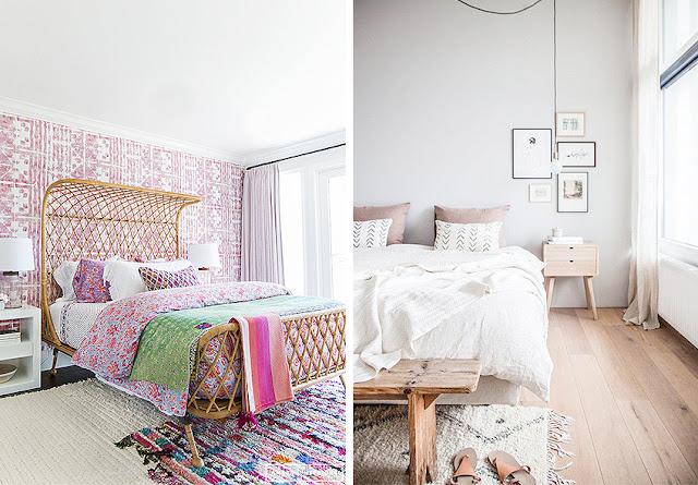 dormitorios rosas