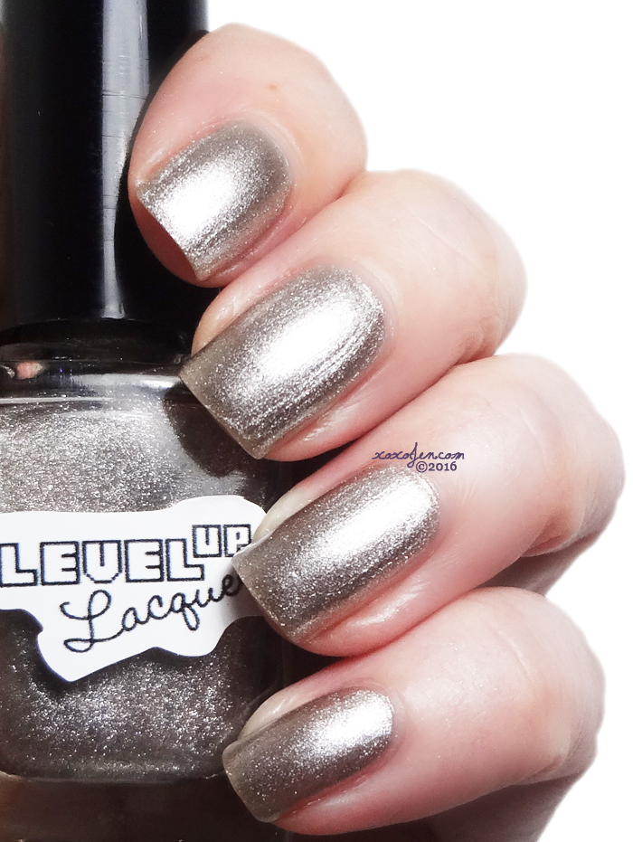 xoxoJen's swatch of LevelUp Lacquer T-1000