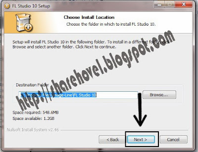 Step 5 Cara Install FL Studio 10 Full Version Disertai Gambar by sharehovel