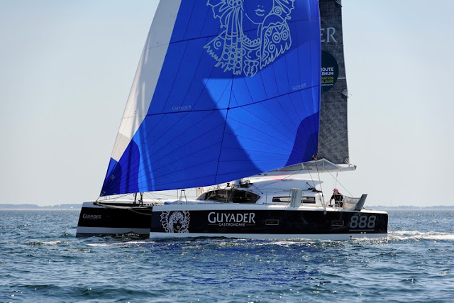 Catamaran de Christian Guyader TS 42