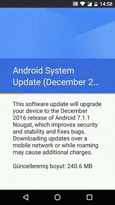 Google gulirkan update Android v7.1.1 Nougat untuk semua perangkat besutannya