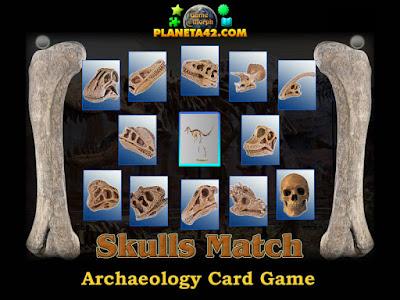 Skulls Match Game