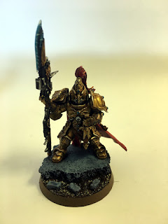 40k Burning of Prospero - Adeptus Custodes Sergeant - Front