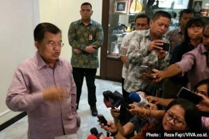Bela Prabowo Soal Lahan, JK: Lebih Baik Dikelola Prabowo Daripada Dikuasai Asing