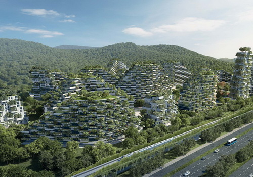 Tinuku Stefano Boeri Architetti announced Liuzhou Forest City design