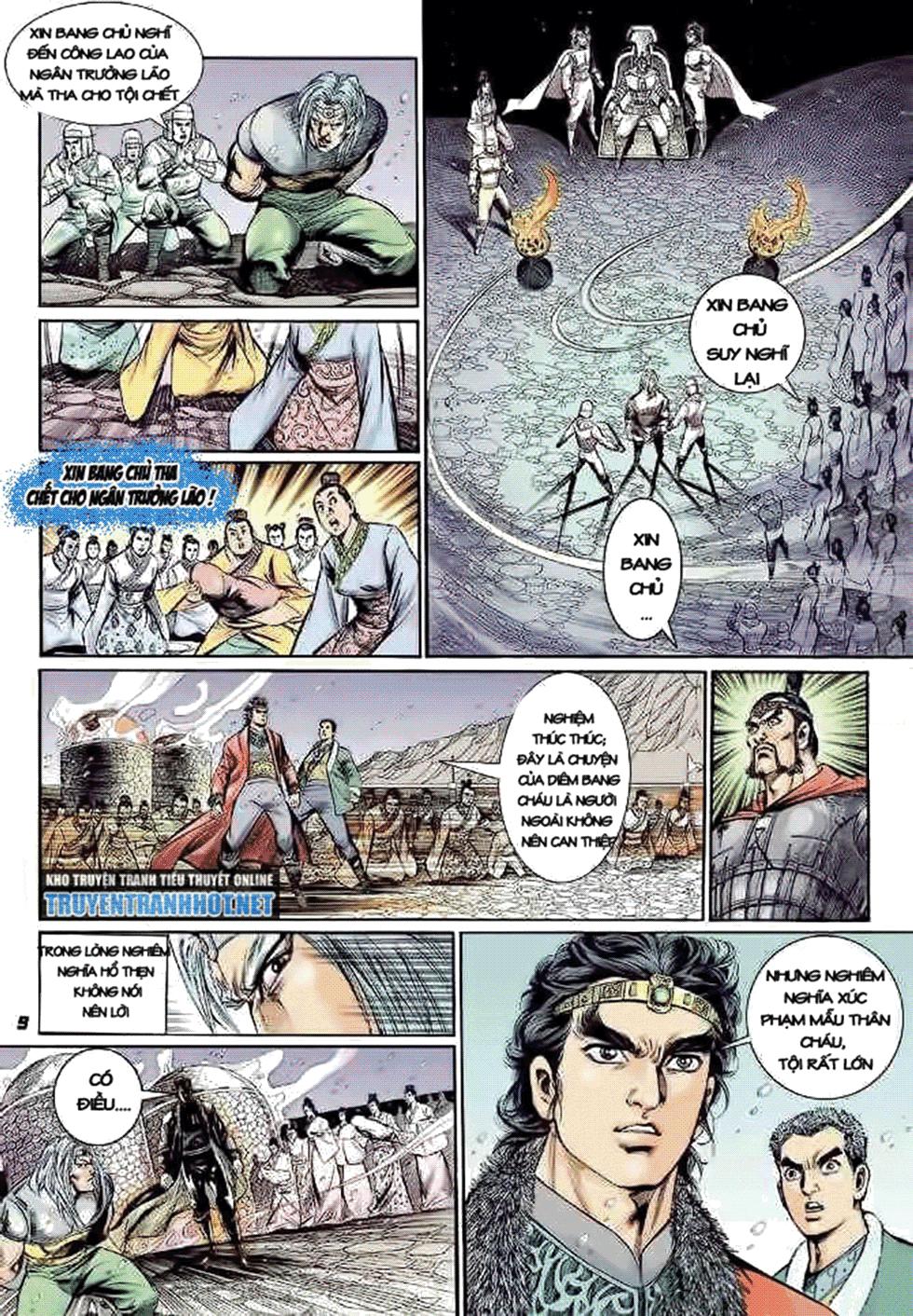 Tần Vương Doanh Chính chapter 8 trang 10