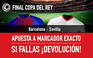 sportium Promo Final Copa del Rey Barcelona vs Sevilla 21 abril