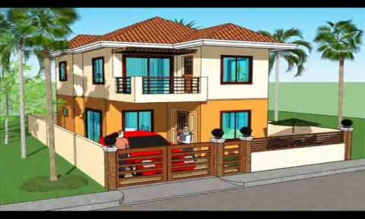 40 most beautiful and modern 2 storeys house designs for Most beautiful house plans