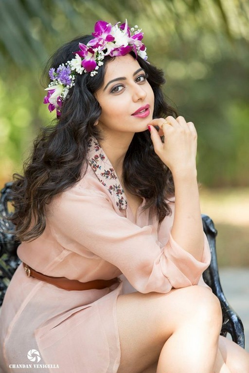 Rakul Preet Singh Photo shoot In White Dress