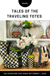 Tales of the Traveling Tote Series: Next Installment Coming Sept 1, 2018