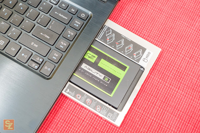 hdd caddy review