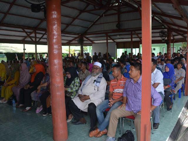 Korem Babullah Sosialisasi Penerimaan Secaba PK ke Orang Tua Calon Siswa