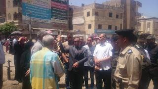الهوارى يواصل تنفيذ اكبر حملة لتعدى على املاك الدوله  كتبت / وفاء عبد السلام