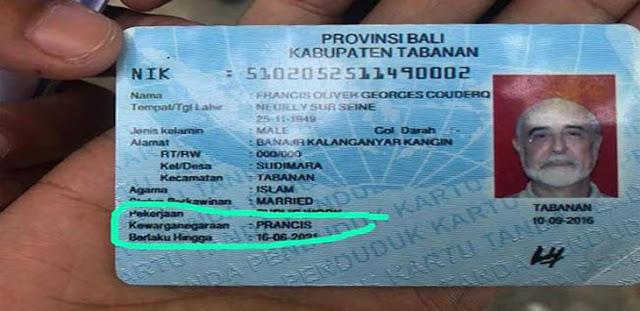 77 WNA di Bali Punya E-KTP, 7 Masuk DPT