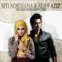 Lirik Lagu Siti Nordiana & Aliff Aziz Tak Ada Cinta Sepertimu
