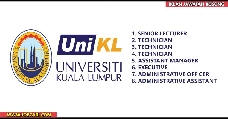 Jawatan Kosong Terkini di UniKL