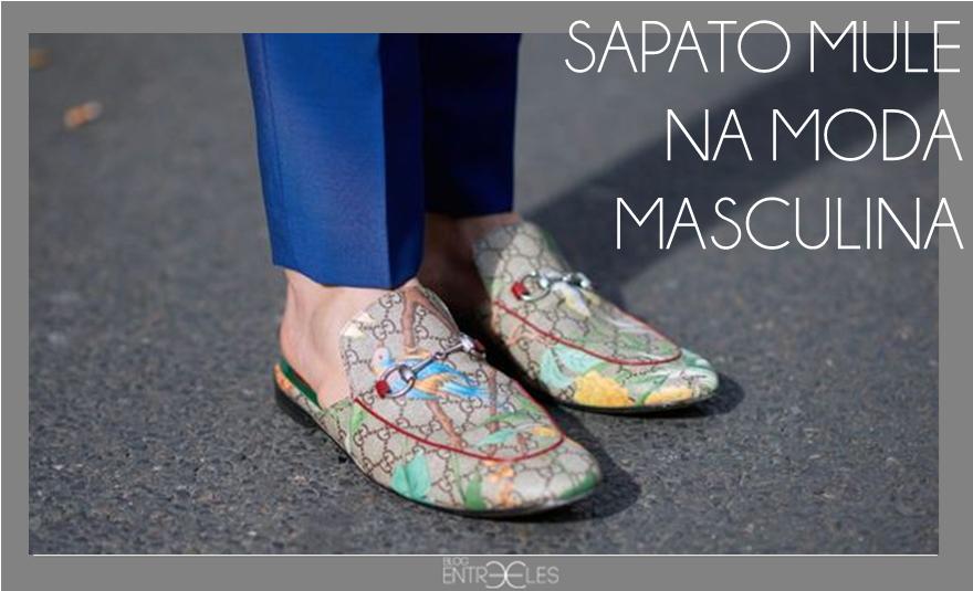 9a080b058 MODA | Sapato mule (slipper) é tendência na moda masculina. | BLOG ...