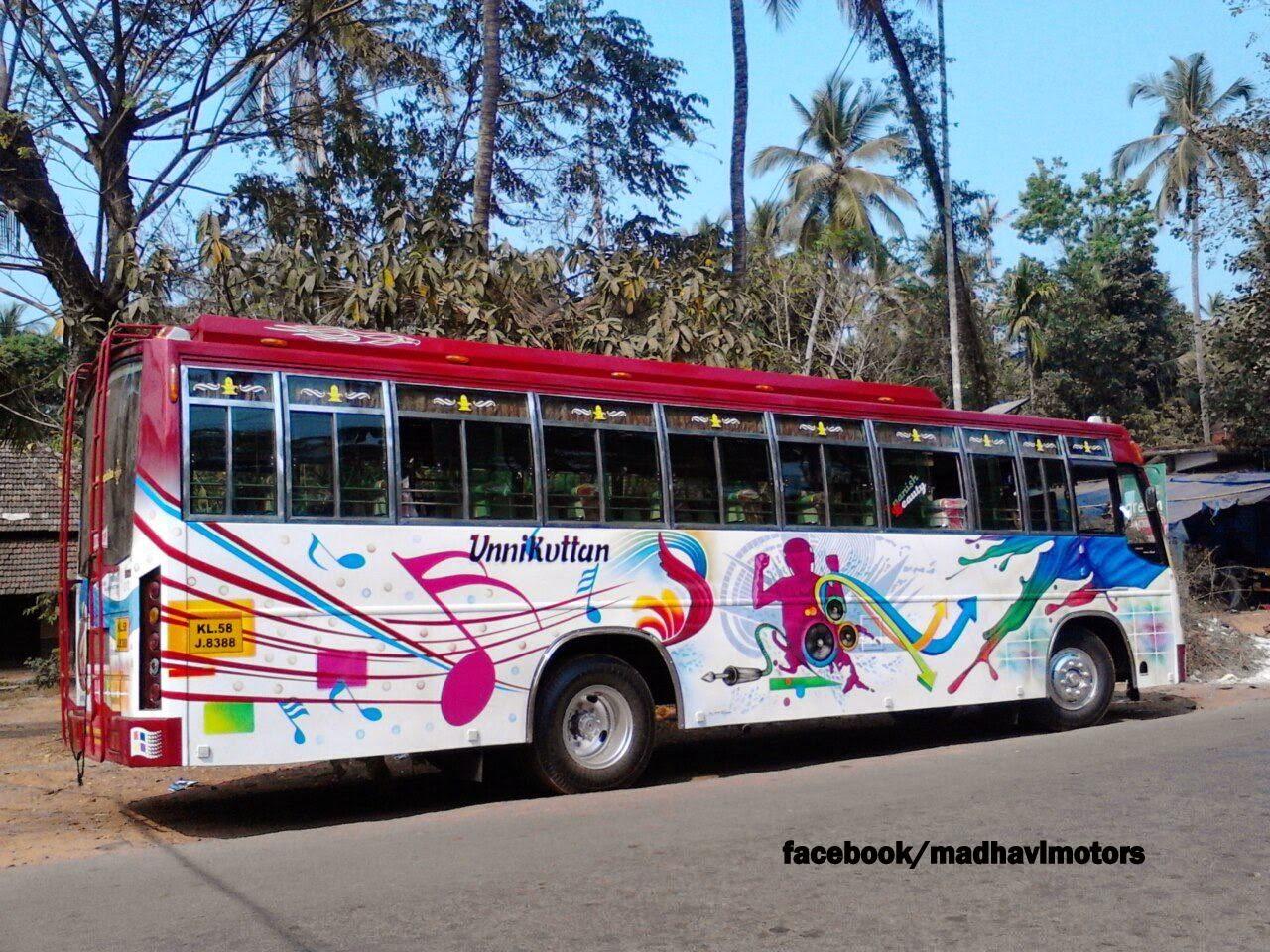 Kannur Private Buses Madhavi Motors