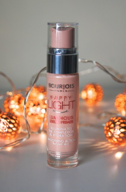 bourjois happy light luminous serum primer review