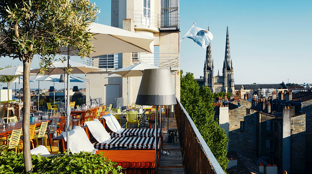 Nice Le Mama Shelter Bordeaux #12: The Grand Hotel Roof Terrace