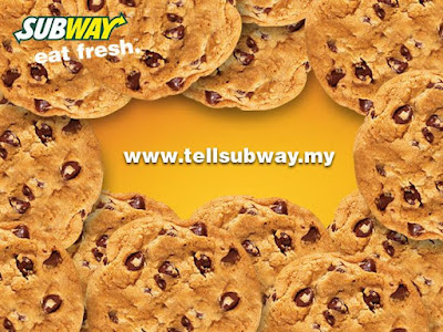 Subway Malaysia Free Cookie Customer Feedback Form