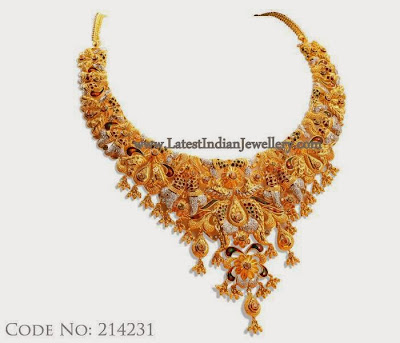 Beautiful Gold Necklace Design