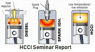 HCCI Engine Seminar report pdf